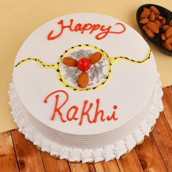 Rakhi With Cake Online India