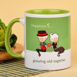 Growing Old Together Mug