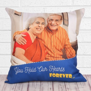 Personalised Photo Cushion for Parents