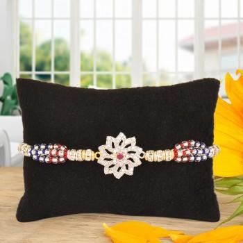 Floral Design Rakhi