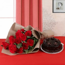 Truffle with Roses