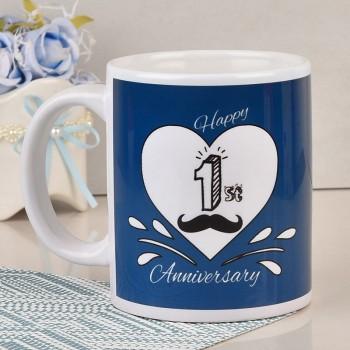 1st Anniversary Mug For Hubby