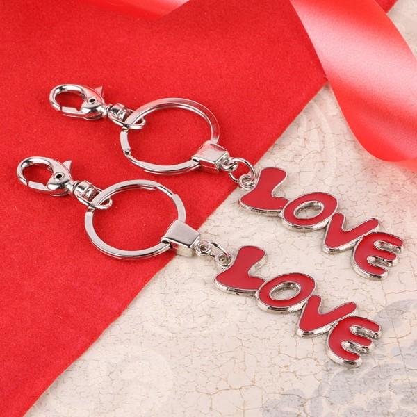 Dual Love Key Chain