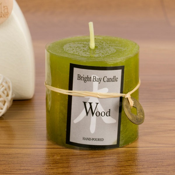 The Wood Candle