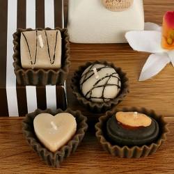 Chocolate Twist Candles