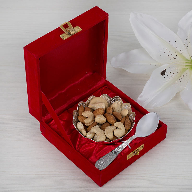 Silver Dry Fruits Set