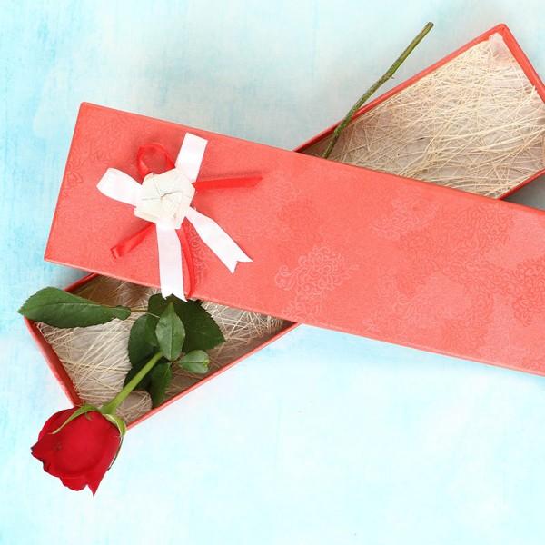 One Rose in a Box