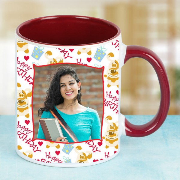 Personalised Photo Coffee Mug for Girlfriend Birthday