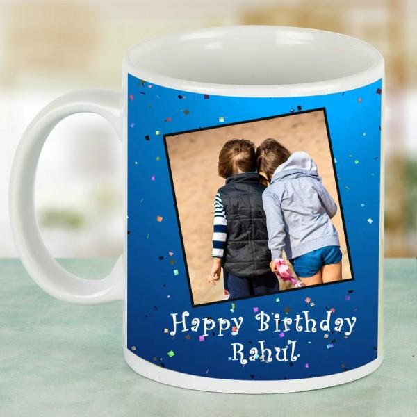 Personalised Photo Mug for Kids Birthday
