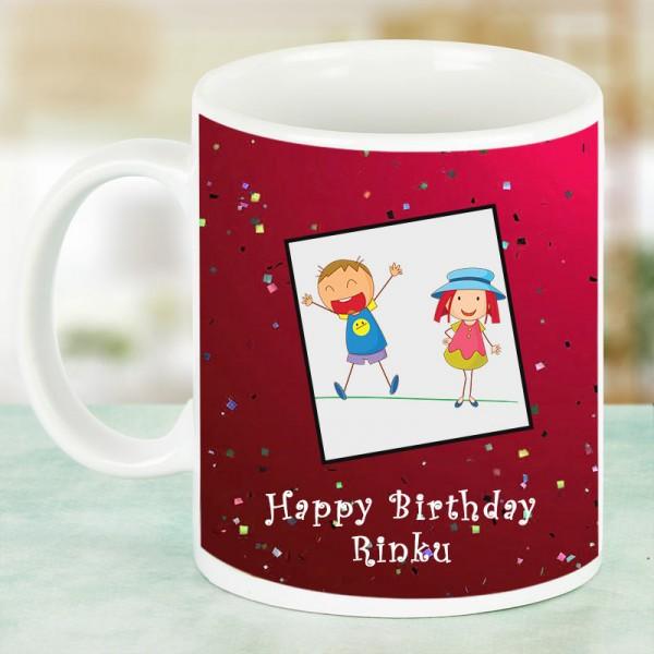 Kids Birthday Coffee Mug