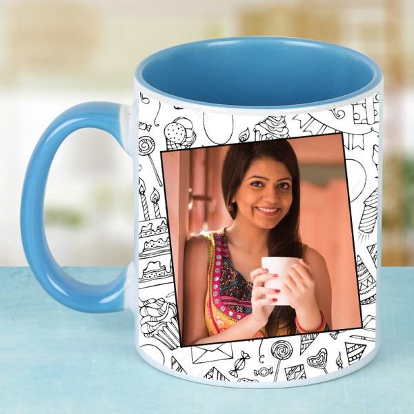 Birthday Personalised Mug for Sister