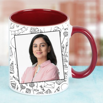 Personalised Photo Mug for Wife Birthday