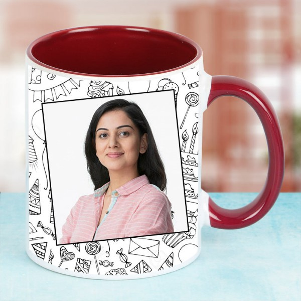 Personalised Photo Mug for Wife Birthday