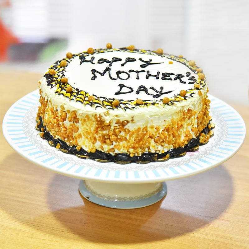 Butterscotch Cake for Mom