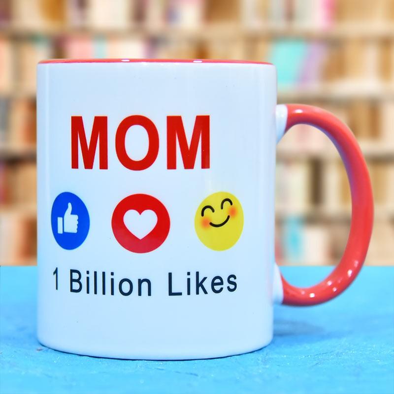 Emoticon Mug For Mom