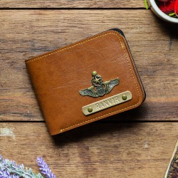Personalised Leather Wallet For Men