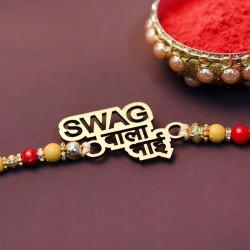 Swag Wala Bhai Metal Rakhi