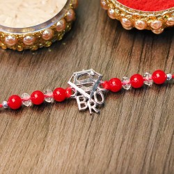 Super Bro Metallic Rakhi