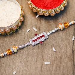 Extraordinary Dazzling Diamond Rakhi
