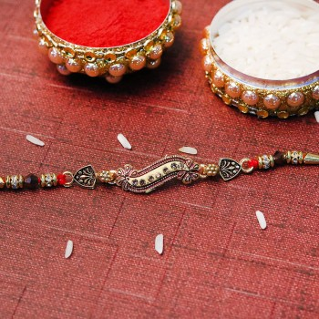 Unique Designer Antique Rakhi