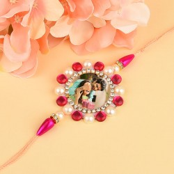 Blushing Pink Personalised Rakhi
