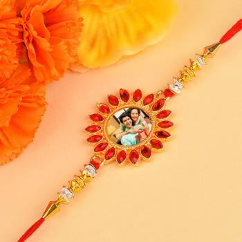 Floral Personalised Rakhi