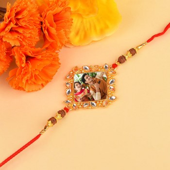 Diamond Personalised Rakhi