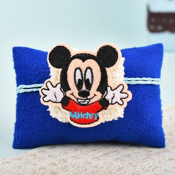 Mickey Mouse Kids Rakhi with LED