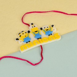 Adorable Minions Kids Rakhi