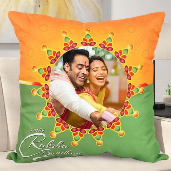 Personalised Cushion for Raksha Bandhan