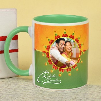 Personalised Mug for Raksha Bandhan