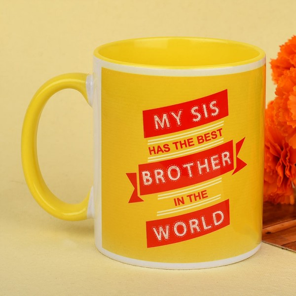 Funky Quote Mug for Brother