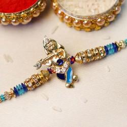 Pristine Lord Krishna Rakhi