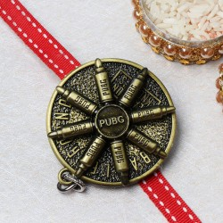 Antique Oxidised PUBG Rakhi