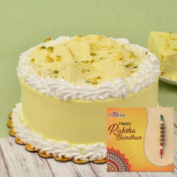 Rakhi With Cake Delivery In India