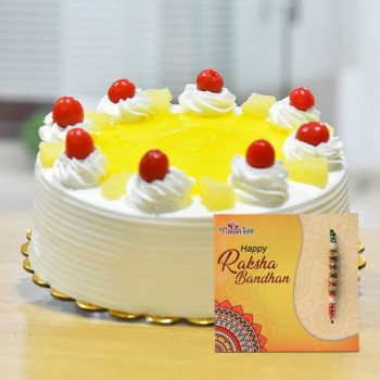 Creamy Pineapple and Rakhi Combo
