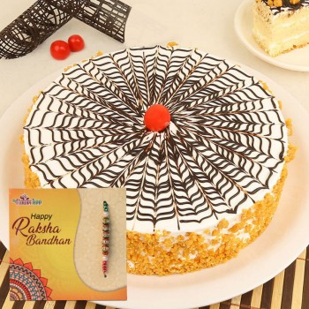 Online Rakhi With Cake In India