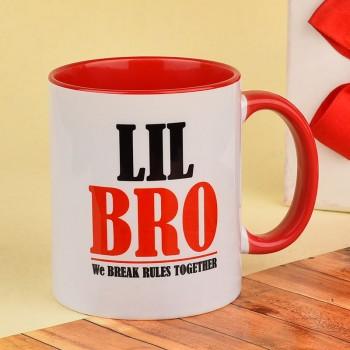Little Bro Printed Mug
