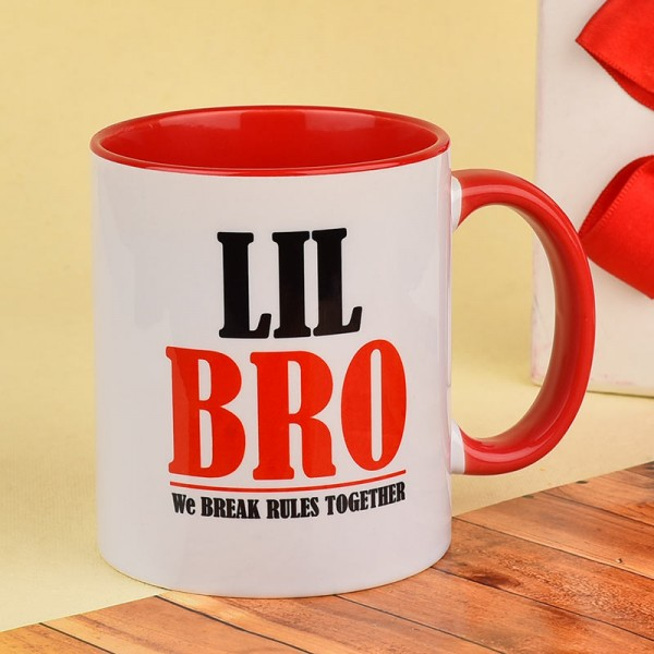 Little Bro Printed Mug
