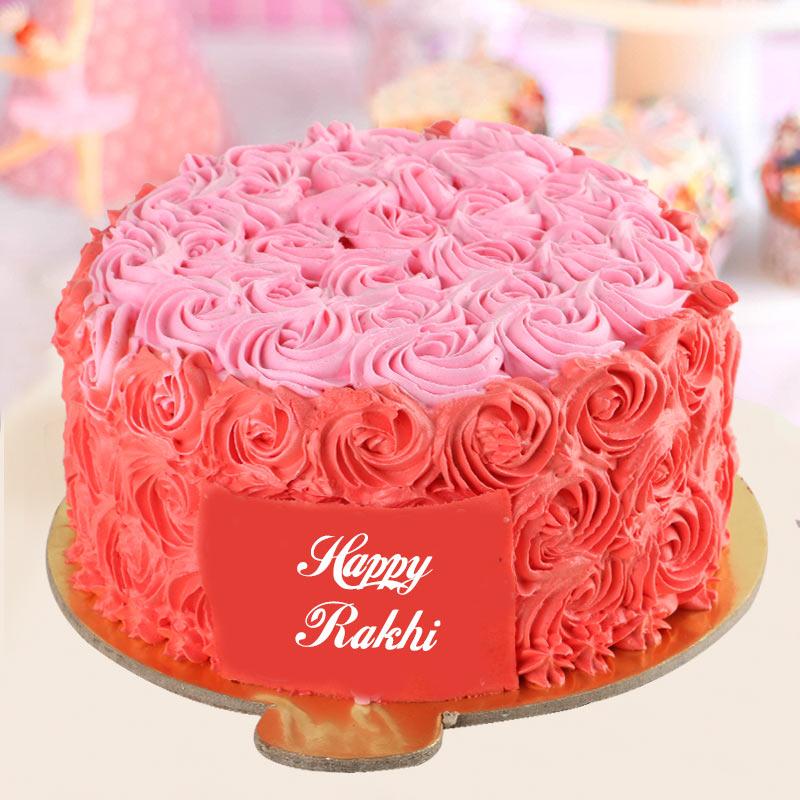Rakhi Rose Cake