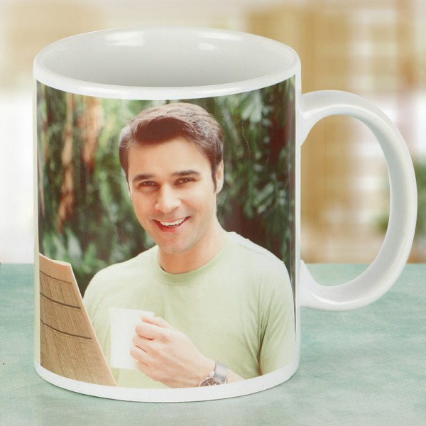 Personalised Photo Coffee Mug for Brother