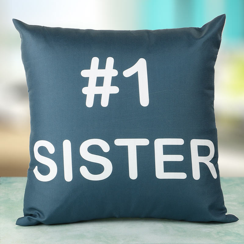 No 1 Sister Cushion