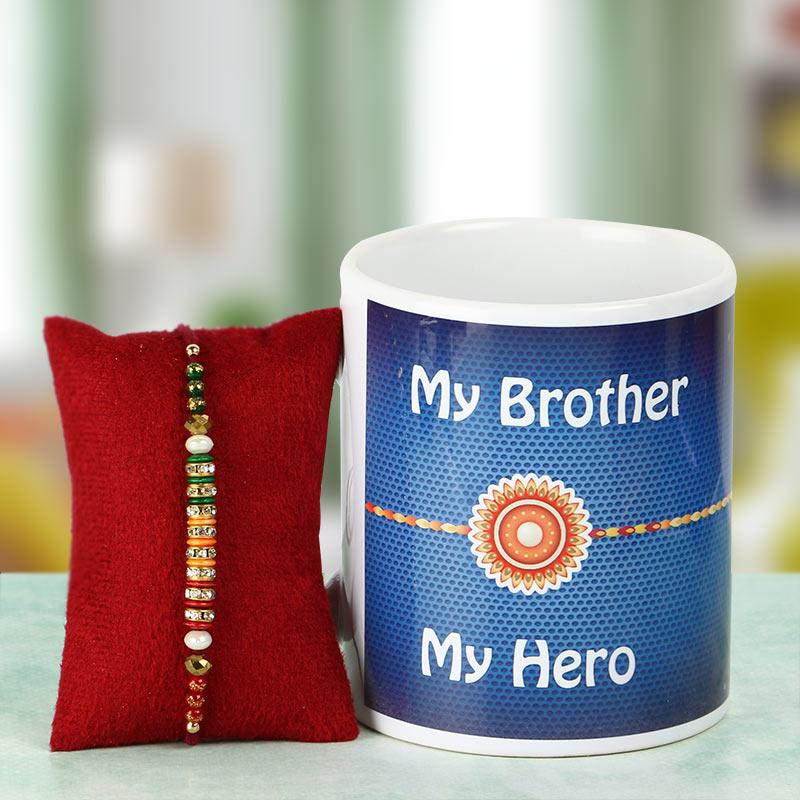 Rakhi in Mug