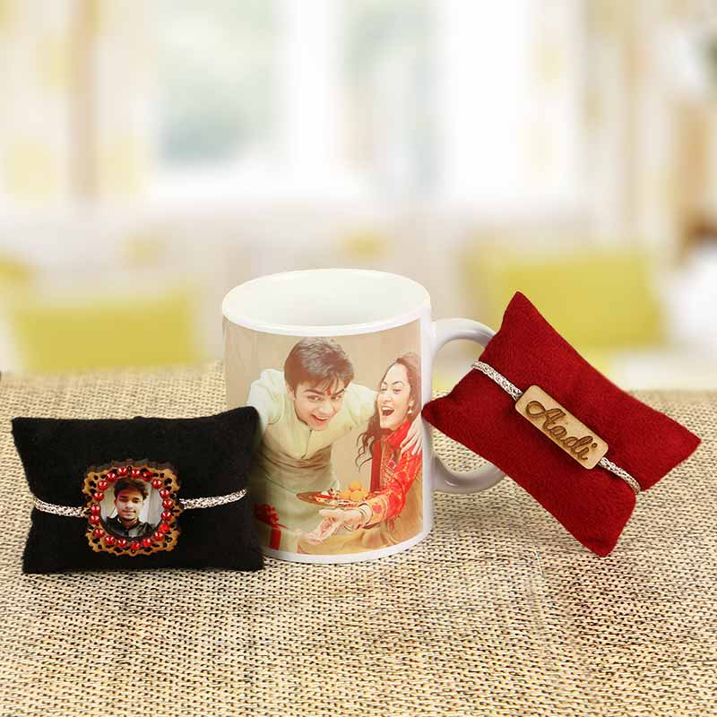 Personalised Touch to Rakhi