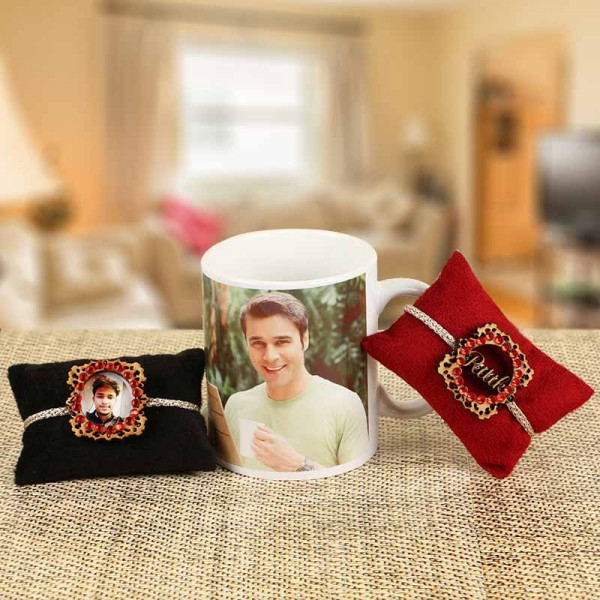 Personalised Rakhi Combo
