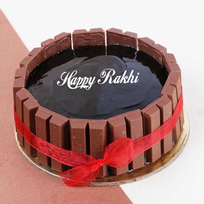 Rakhi KitKat Cake