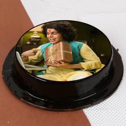 Rakhi Photo Special Cake