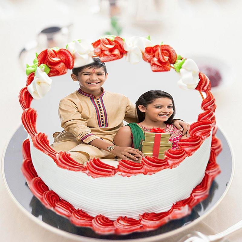 Rakhi Photo Humble Cake