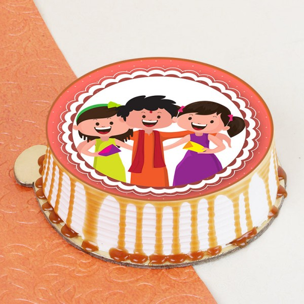 Rakhi Photo Crunchy Cake