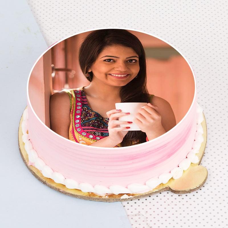 Rakhi Photo Fruity Cake
